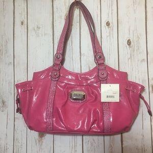 NICOLE MILLER pink shoulder bag